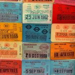 London transport ticket collection