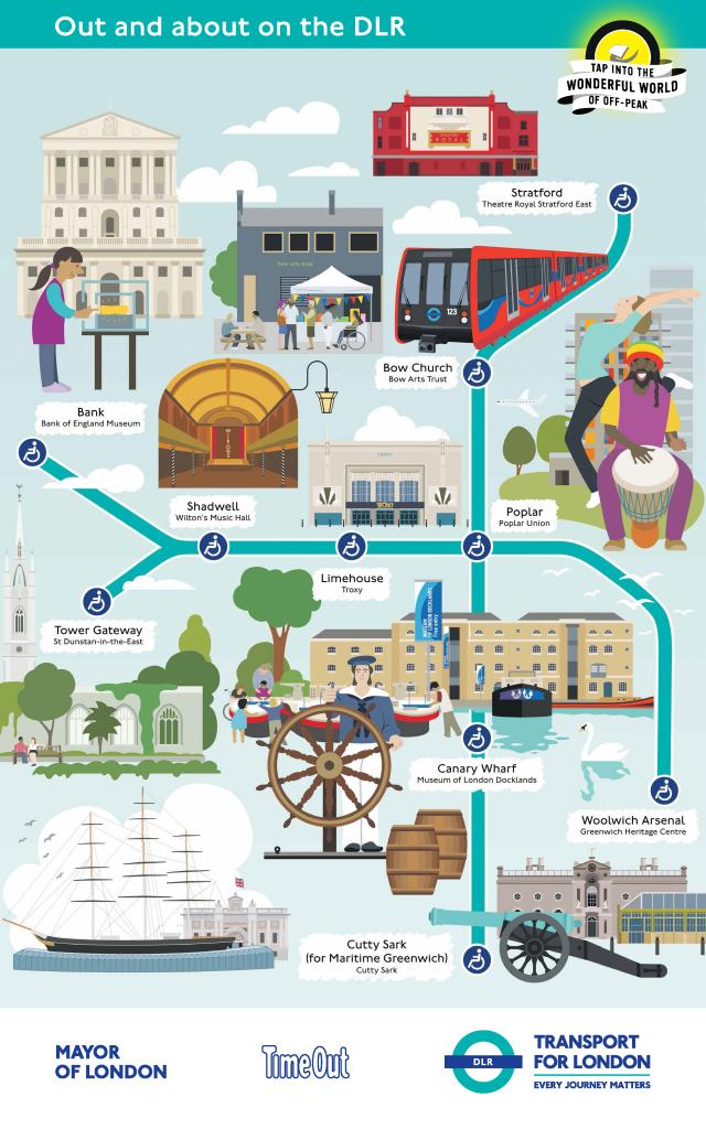 DLR Cultural Tube Map