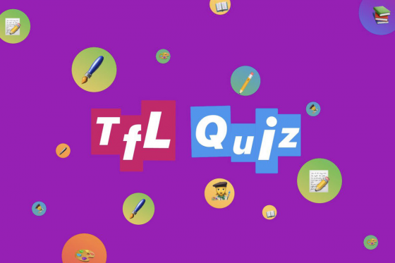Graphic with emojis for the TfL Quiz