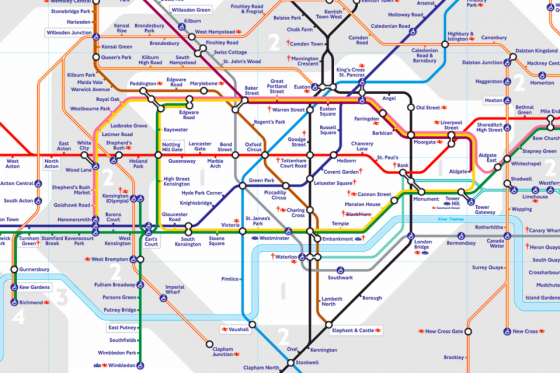 Transport for London map