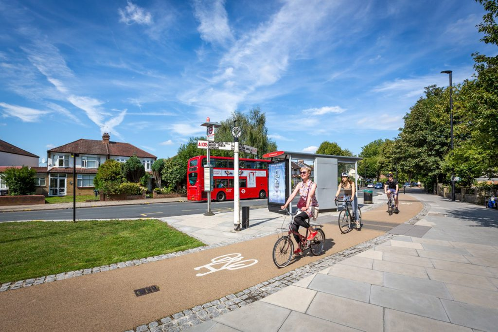 London cycleway cycle route