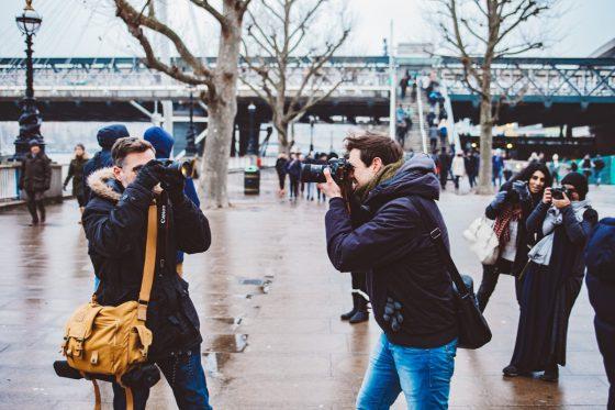 Photographers London South Bank wintertime