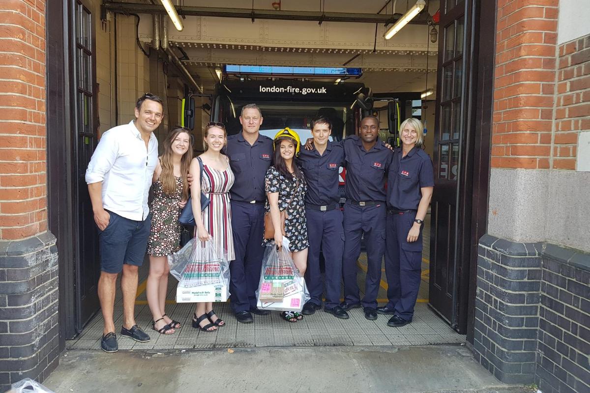 David and London Fire Brigade