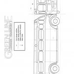 Line art instructions for building a bus part one