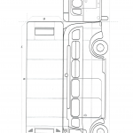 Line art instructions for building a bus part two
