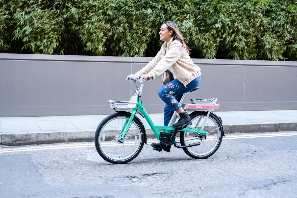georgia on beryl bike