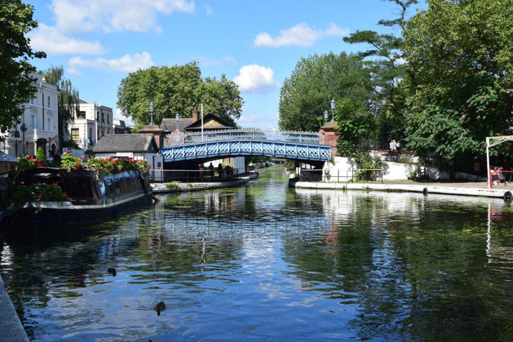 Bridge over regent's canal.