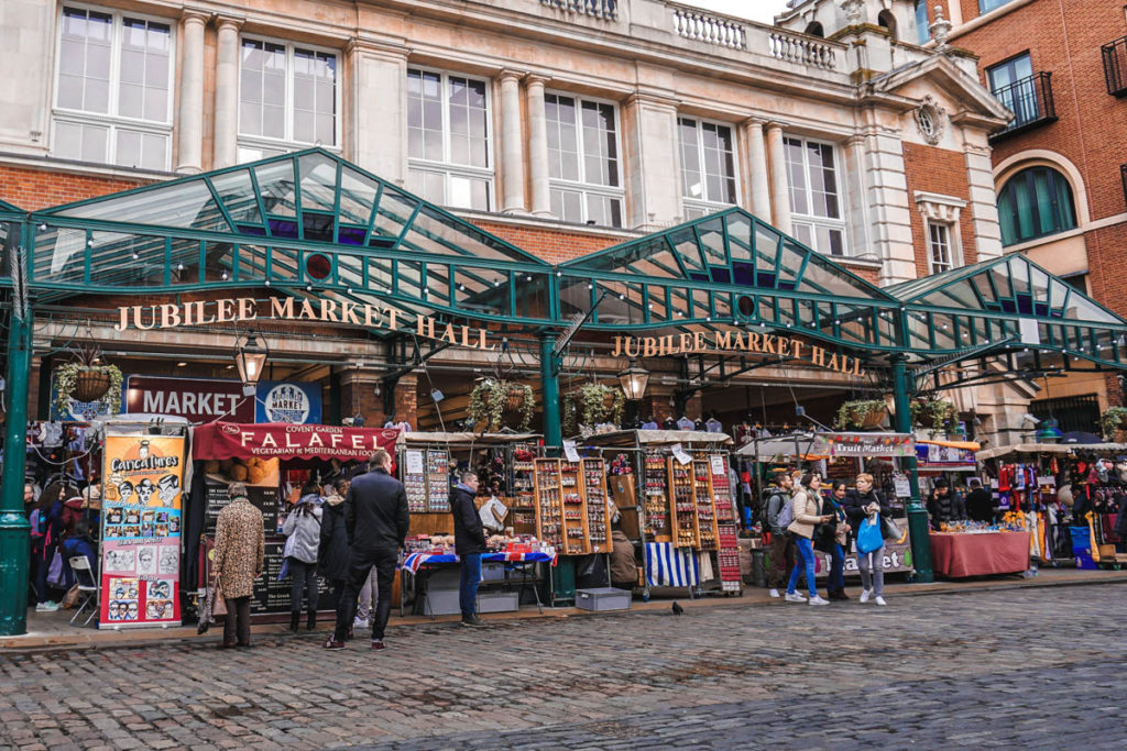 Jubilee market at Covent Garden.